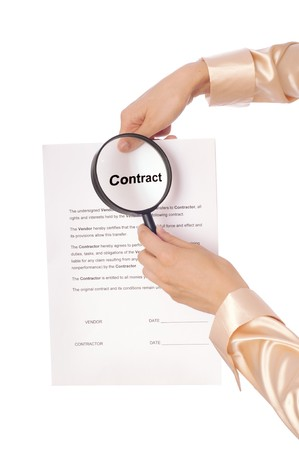 new contract: The new worker seeking inconvenient features of contract