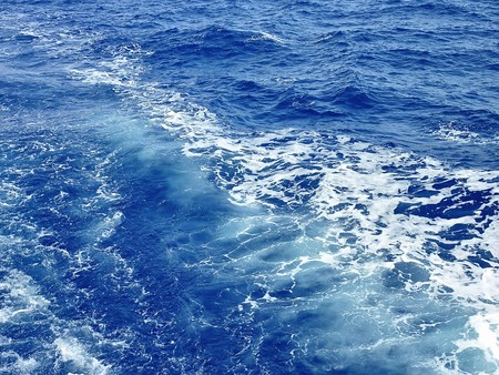water waves in a sea for background