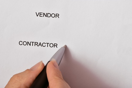continuation: Contractor signing the contract as a continuation of relationship