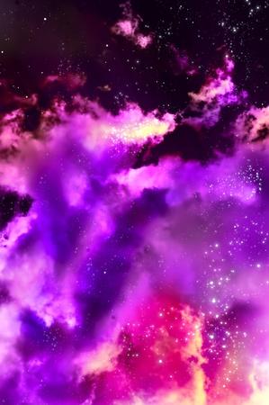 nacimiento de una nebulosa nueva después de la explosión de la supernova