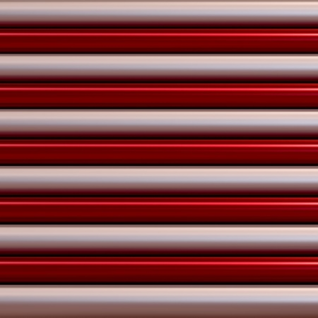 red metallic and silver color of pipes as texture photo