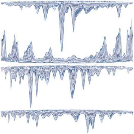 melting: Congel�ndose de una tonalidad azul con gotas de agua de deshielo