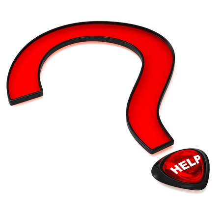 help for the most important question in life Stock Photo - 13879907
