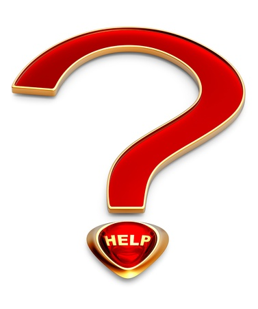 help for the most important question in life Stock Photo - 14441065