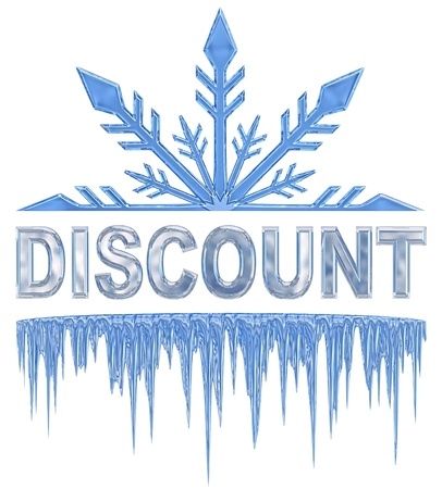 label   sticker for sales with big variety of discounts Stock Photo - 16928693