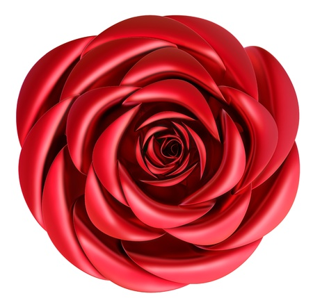 beautiful red rose as decoration for celebration of Valentine s Day Stock Photo - 17843458