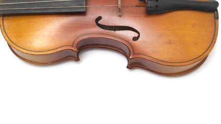 Part of vintage violin photo