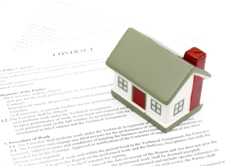 legal document for sale of real estate property in europe, Stock Photo - 8471584