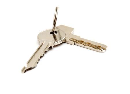 2 chrome Key isolated on white bacground Stock Photo - 8482072