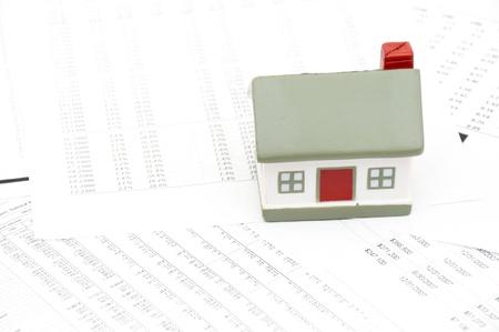 decline in values: Housing market concept