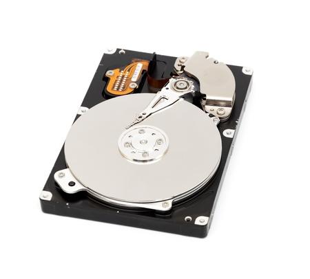 Opened computer harddisk photo