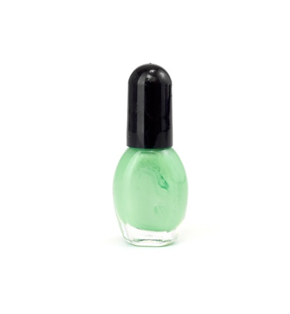 fangle: nail polish isolated on a white background Stock Photo