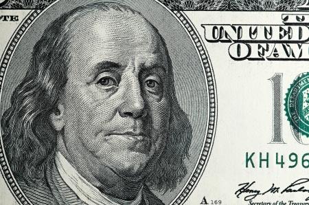 dolar: dólar macro Foto de archivo