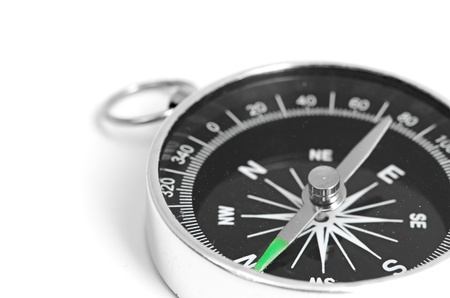 black Compass Stock Photo