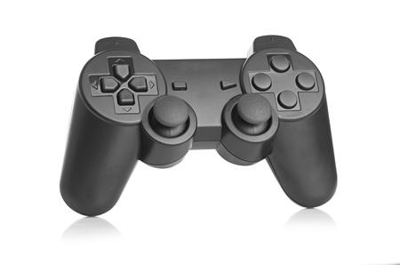 joy pad: gamepad on white background
