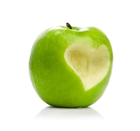 Fresh green apple Stock Photo - 17149777