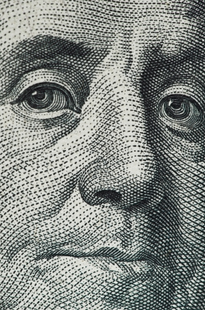 dollar macro Banque d'images