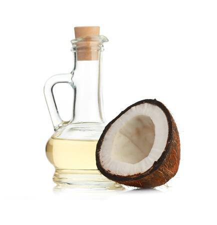 aceite de coco: coco y aceite