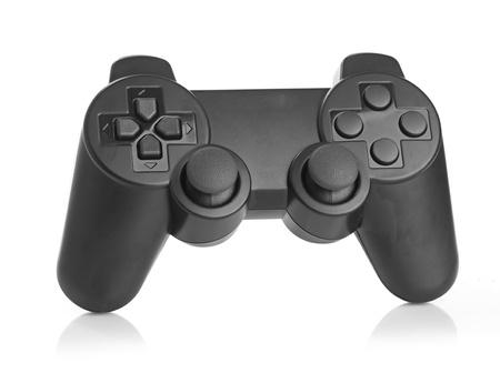 gamepad: gamepad on white background