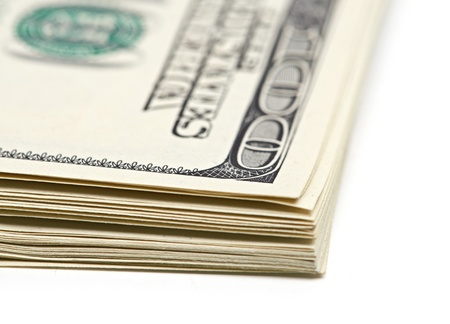 pack of dollars: pack of dollars  Stock Photo