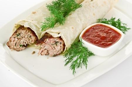kabab: Seekh Kabab
