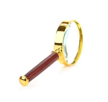 Retro magnifying glass Stock Photo - 20542422