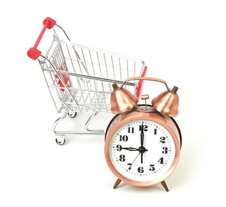 buying time: Buying time concept with clock