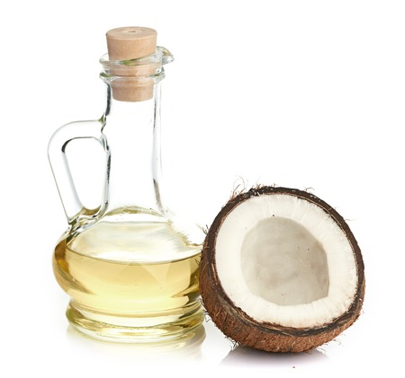 coconut and oil