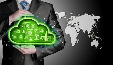 touchscreen: Cloud computing touchscreen interface