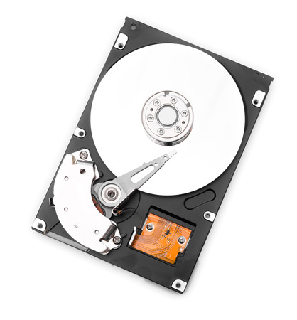 terabyte: HDD on white