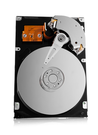 hdd: HDD on white