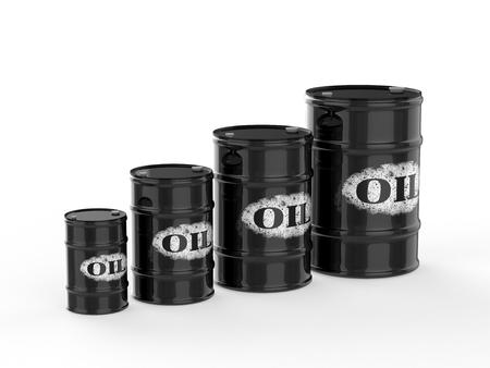barell: oil barrels