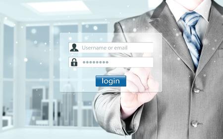 password: Inicio de sesión y contraseña