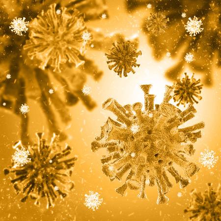 intruder: bacterial intruder cells causing sickness