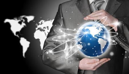 alrededor del mundo: Concepto de Internet