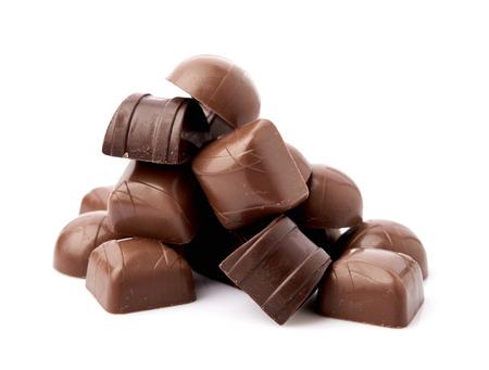dark: Dark chocolate Stock Photo