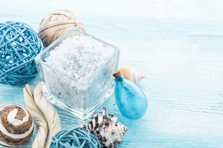 sal: Cosas Spa con sal marina y concha
