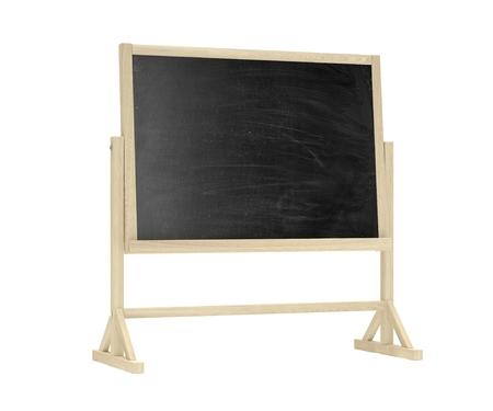 lecture room: blackboard, chalkboard on white