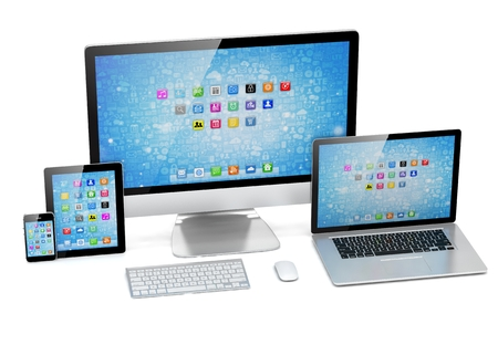 ultimate: Ultimate web design, laptop, smartphone, tablet, computer, display