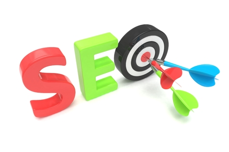 hit tech: SEO concept. 3D illustration.