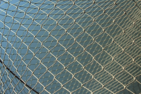 Fishing nets background pattern