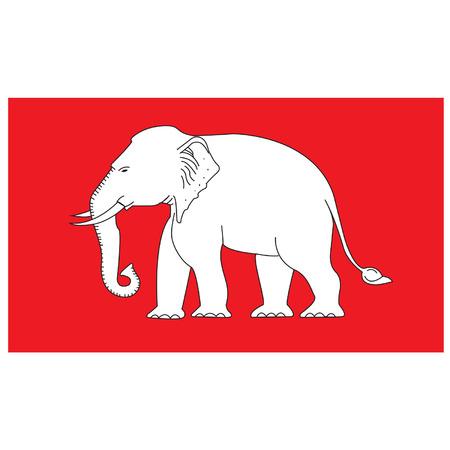 Thai Elephant Thai Elephant Old Thai Flag