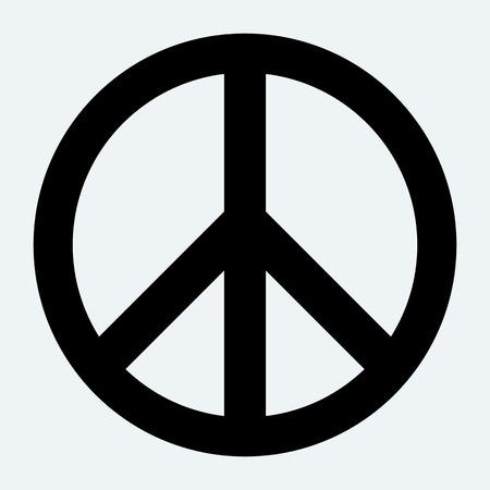 simbolo della pace: Segno di pace. Vettoriali