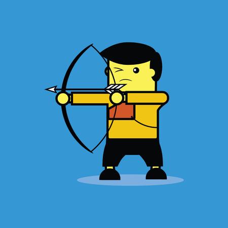 bowman: Archer. Illustration