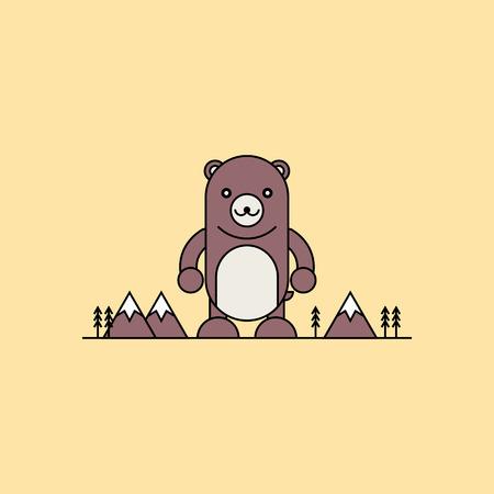 cute bear: Cute bear.
