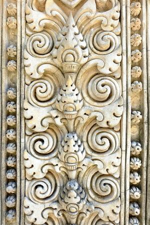 stucco: Thai Ancient Stucco Background.