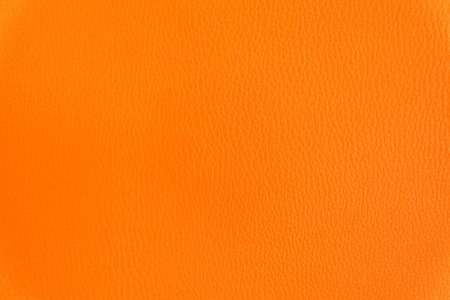 black leather texture: Close up Orange Chair Backrest Leather Background.