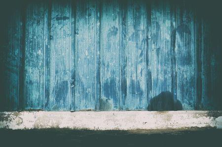 Empty Metal Room Background.