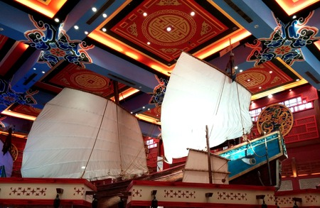 ibn: Ibn Battuta Mall, Dubai - UAE China Court. China Court is the Home to the Entertainment Zone in the Mall
