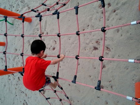 play ground: kid in play ground